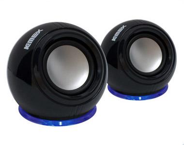 Caixa de Som K-Mex SP-U940 - Efeito com led azul -
